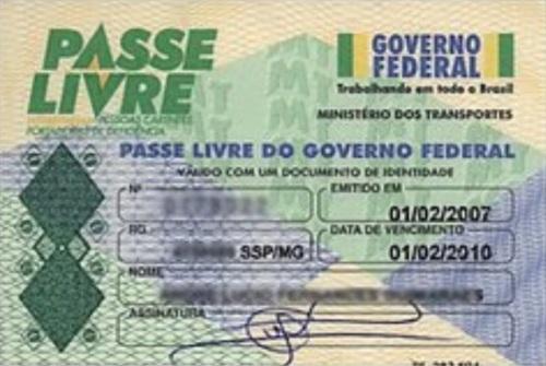 Passe Livre do Governo Federal