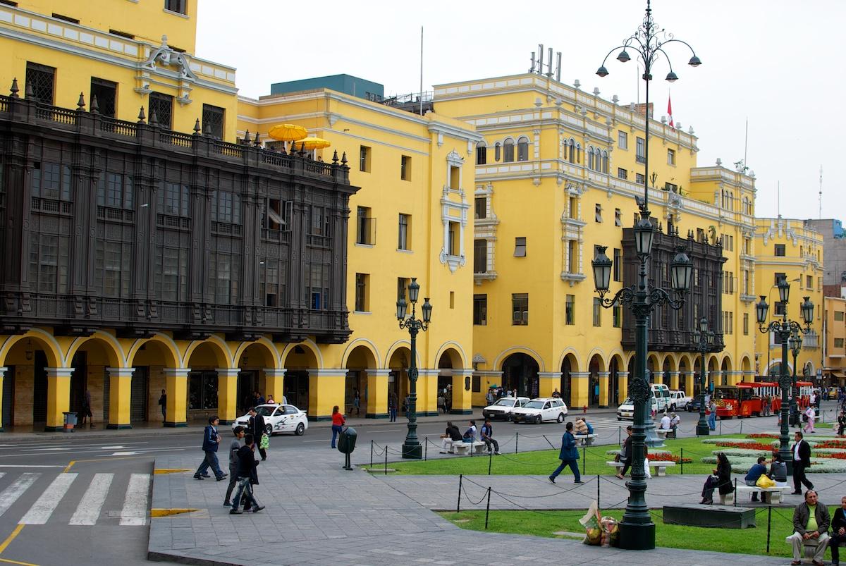 Lima peru ter udio guias com 7 circuitos culturais for Via lima 7 roma