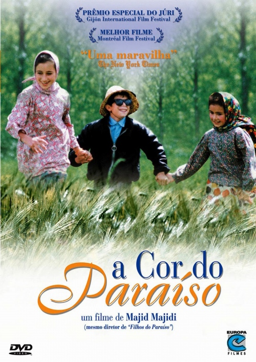 A cor do paraiso (cartaz)