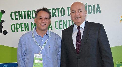 Antonio Pedro Figueira de Mello, presidente da Riotur, e Valdir Simão, secretário-executivo do MTur