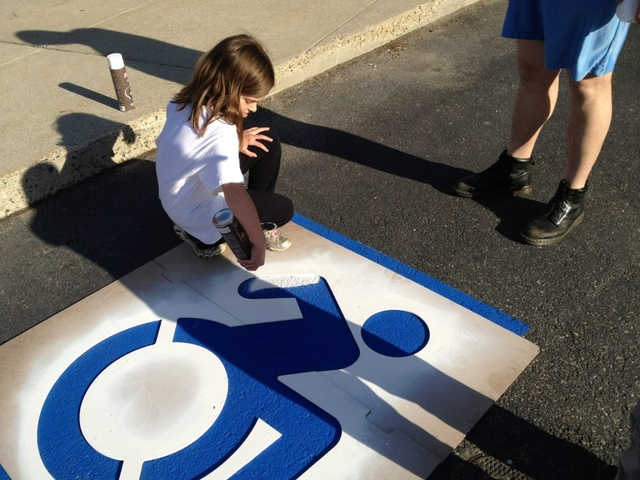 New York City redesigns the international symbol of access ... Handicap Logo Redesign