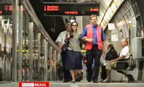 Metrô oferece um serviço personalizado para todos os passageiros com deficiências