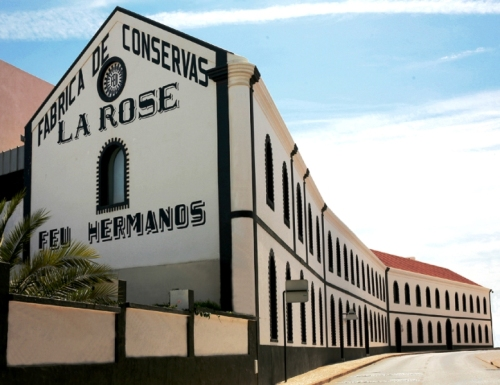 Museu de Portimão, antiga Fábrica de Conservas La Rose - Feu Hermanos, restaurado e reabilitado para as suas novas funções museológicas e culturais