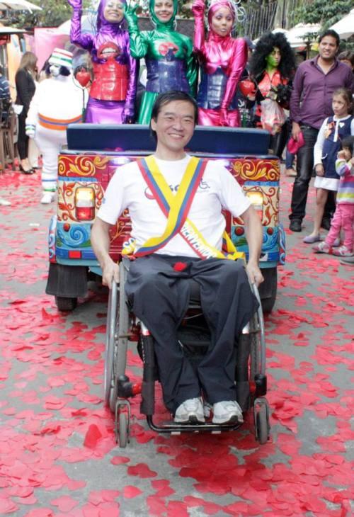 Shimosakai perdió la movilidad de las pierdas tras ser secuestrado en Sao Paulo.