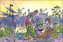 Piratas do Tietê, uma das tiras mais conhecidas de Laerte