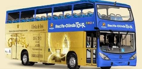 A linha turistica Recife-Olinda Tour irá oferecer acessibilidade para pessoas com deficiência física e visual