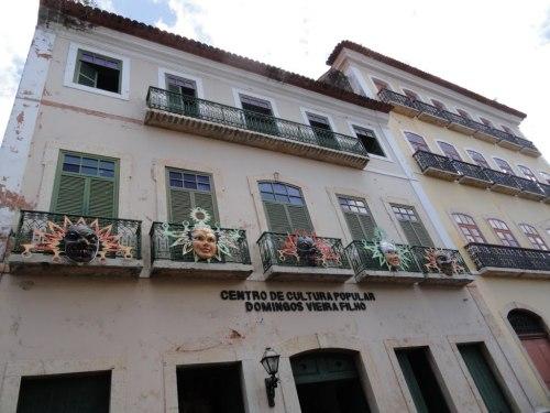 Centro de Cultura Popular Domingos Vieira Filho faz parte do projeto de revitalização onde a acessibilidade está inclusa