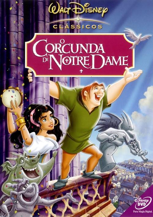 """O clássico """"O Corcunda de Notre Dame"""", além do livro também teve versões em filme, animações e peças de teatro"""