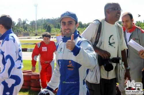 Eduardo Favilla foi vice-campeão do Deaf Kart da Irlanda do Norte e representará o Brasil no Euro Nations Deaf Kart em junho de 2014