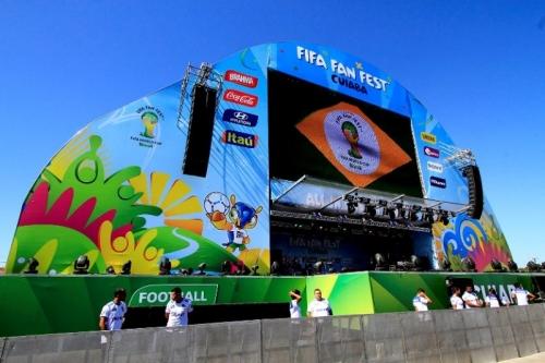 Durante a operação, ficou constatado que Fifa Fan Fest de Cuiabá não está adequado para receber as pessoas com deficiência