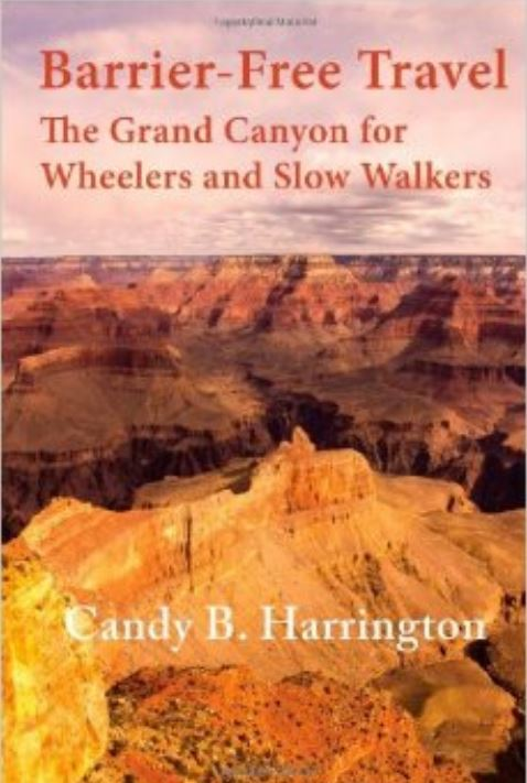 Book Cover. 'The grand canyon for wheelers and slow walkers'.