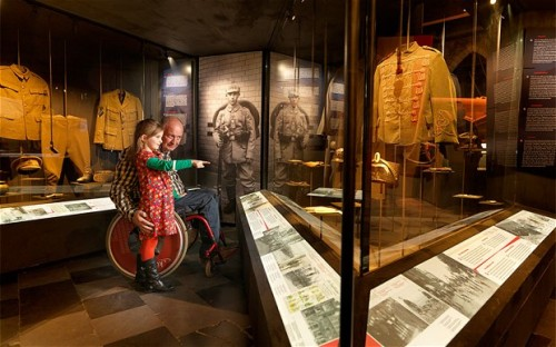 Many attractions in Flanders provide access for those with mobility issues and other disabilities