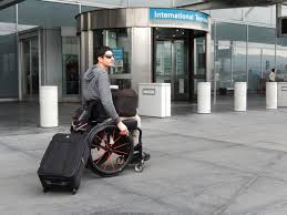 Wheelchairs are not levied as luggage, but are dispatched so after accommodating the disabled passenger on the seat in the aircraft