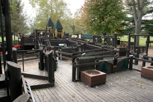 Camden Playground. was a first-of-its-kind handicap-accessible play area that parks across the country have imitated.