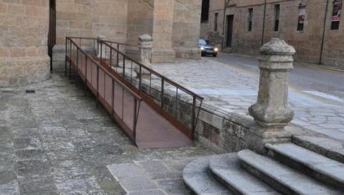 Una de las principales medidas adoptadas por Ciudad Rodrigo para la eliminación de barreras arquitectónicas para facilitar el turismo
