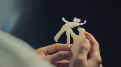A 3D printing company shows how technology can be used to enhance the lives of blind people — in new, creative ways.