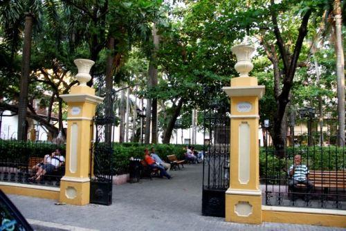 El Parque de Bolívar será una de las zonas más amigables para la movilidad de los discapacitados.