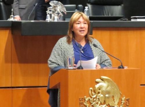 La Senadora por Nayarit manifestó su postura y la del Grupo Parlamentario del PRI a favor de la reforma a la Ley General de Turismo