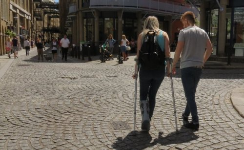 According to the World Health Organisation report in 2011, 15 per cent of the world's population have a disability, more than one million have special needs