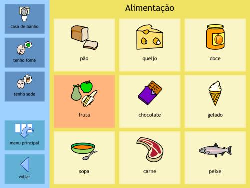 O aplicativo para pessoas com dificuldade de comunicação, que possuem alguma deficiência ou também para quem não tem domínio do idioma