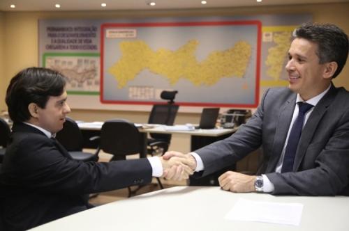 Bruno Fernandes foi convidado por Felipe Carreras para trabalhar na Secretaria de Turismo, Esportes e Lazer de Pernambuco