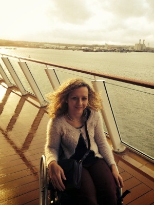 If you have a disability, travelling is rarely straight forward. This month she shares her experience on a Norwegian cruise ship.