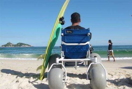 O programa Praia Acessível - Praia para Todos!, que comemora 10 anos, contribui também para impulsionar o setor do turismo