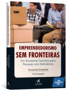 Capa do livro 'Empreendedorismo Sem Fronteiras'