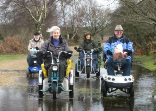 Members of the group are compiling a collection of accessible and exciting routes for the ViewRanger GPS navigation app
