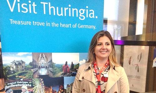 Margaret Grantham, diretora do DZT-Turismo da Alemanha no Brasil