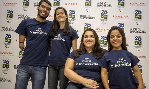 Parceria do Comitê Paralímpico Brasileiro (CPB) com rede de cinemas proporcionará a exibição de vídeos que mostram a superação dos esportistas