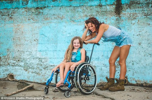 11-year-old Beth Cooper-Wares was born with Osteogenesis Imperfecta Type III, a severe form of brittle bone disease, and her mum Katie has come up with a plan to help her see the world