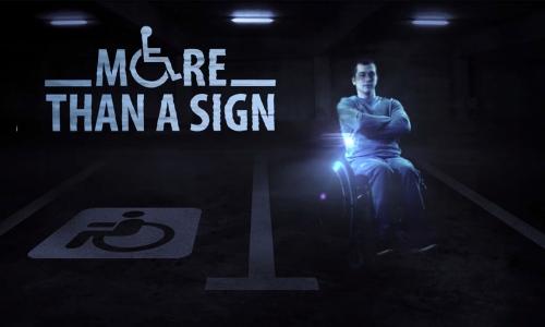 A vaga reservada é essencial para cadeirantes, pois é preciso espaço suficiente para tirar a cadeira de rodas no embarque ou desembarque do carro
