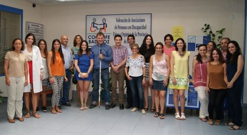 Cocemfe de Badajoz ha acordado con la Organización Nacional de Ciegos de Islandia, colaborar para poner en marcha una guía de turismo accesible