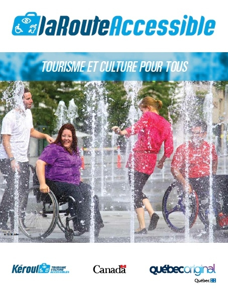 The Accessible Road is a magazine and a revamped and improved website that promote the top accessible establishments in 17 of Québec's tourist regions.