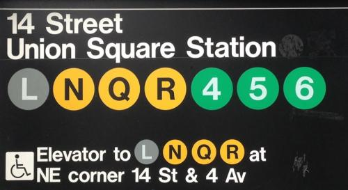 The subway station at Union Square is one of the closest accessible locations for disbaled parade-goers.