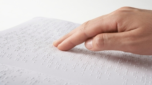 Braille brochures are part of a larger program known as the 'Plants of Hope'