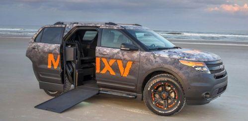 Foi apresentado pela Ford e pela Braunability uma versão do modelo Explorer que é anunciada como o primeiro SUV com acessibilidade
