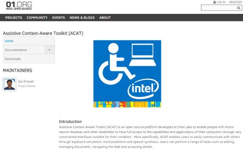Intel disponibilizou software para download