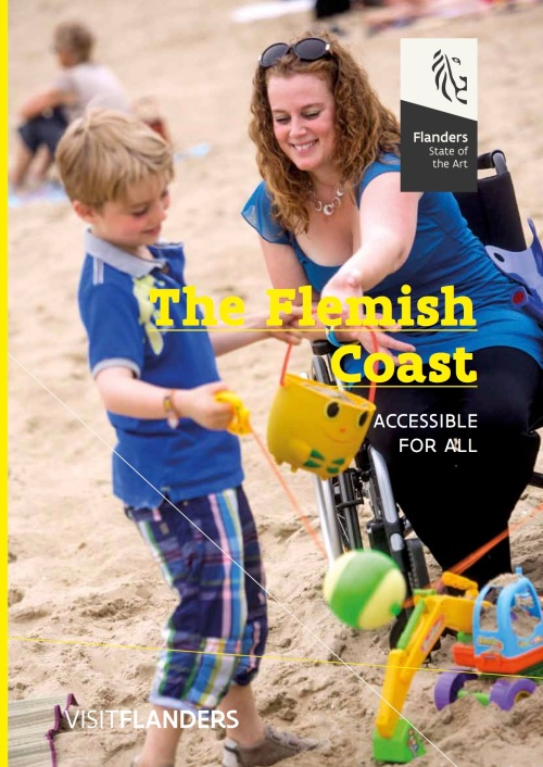 VISITFLANDERS studied every aspect of an accessible tourist visit to Flemish coastal municipalities