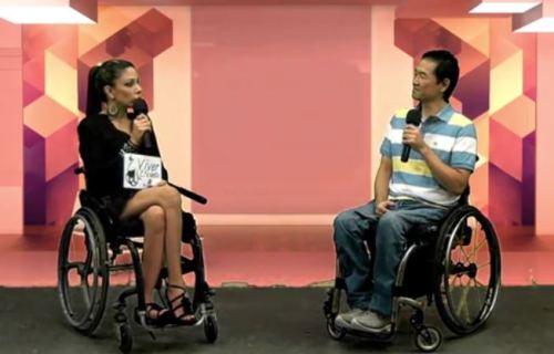 Caroline Marques entrevista Ricardo Shimosakai no programa Viver Eficiente