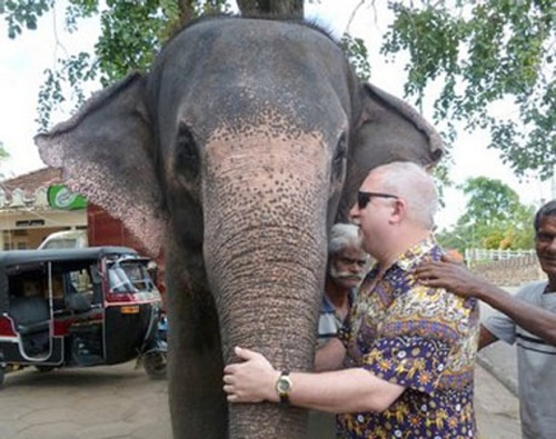 Dave Kent has travelled the world, including Sri Lanka