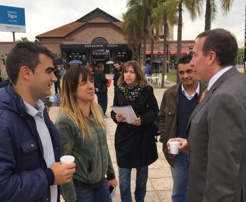 Sergio Szpolski, Alejandro Piccione y Federico Ugo, encabezaron una jornada destinada a promocionar el turismo en Argentina, bajo la consigna Argentina es tu mundo date la vuelta.