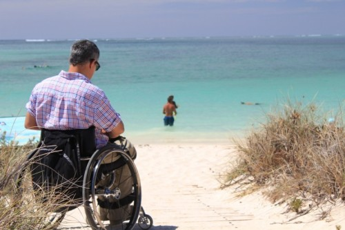 The committee stressed that accessibility was a key right for all and 37 beaches are equipped for disabled