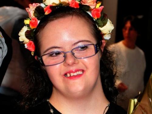 A Miss Simpatia, Larissa Seniuk, foi eleita pelas concorrentes (Foto Divulgação Prefeitura de Ponta Grossa)