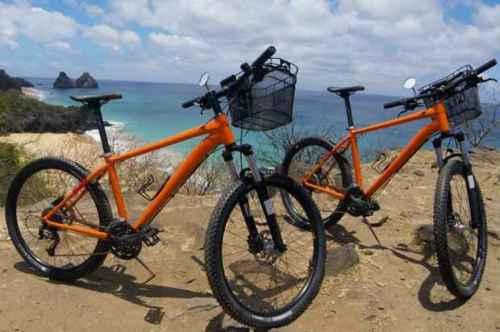 Agora Fernando de Noronha dispõem de bicicletas para uso gratuito na Ilha.