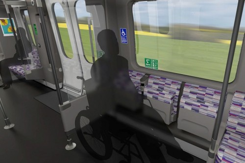 All of the platforms and trains across the Crossrail network will be fully accessible with step-free access and manual boarding ramps at stations