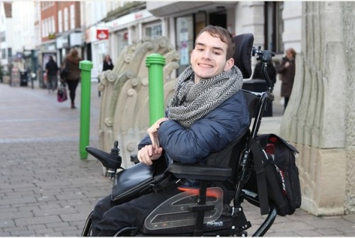 Christian Drewitt is on a mission to make Gloucester more accessible to disabled tourists.