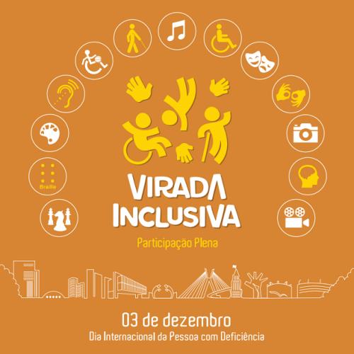 Com uma vasta programação em diversos locais e municípios, o evento homenageia o Dia Internacional da Pessoa com Deficiência (3 de dezembro)