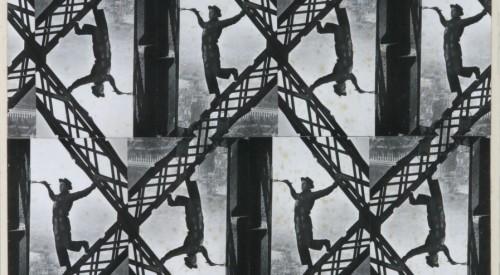 'Pintor Na Torre Eiffel' de Aloisio Magalhães é uma das obras que possui recursos de acessibilidade com audiodescrição